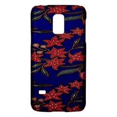Batik  Fabric Galaxy S5 Mini