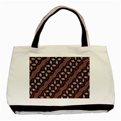 Art Traditional Batik Pattern Basic Tote Bag