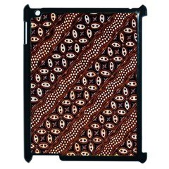 Art Traditional Batik Pattern Apple Ipad 2 Case (black)