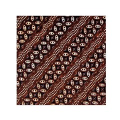 Art Traditional Batik Pattern Small Satin Scarf (square)