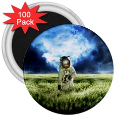 Astronaut 3  Magnets (100 Pack)