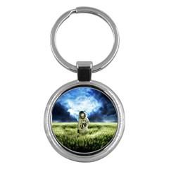 Astronaut Key Chains (round)