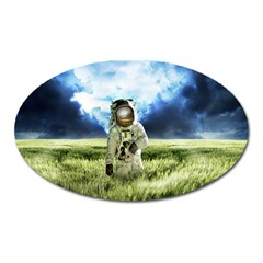 Astronaut Oval Magnet