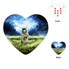 Astronaut Playing Cards (heart)