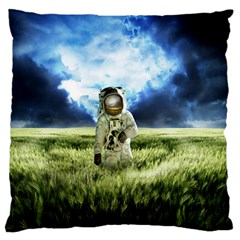 Astronaut Large Cushion Case (two Sides)