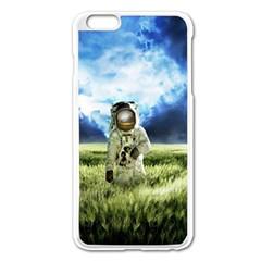 Astronaut Apple Iphone 6 Plus/6s Plus Enamel White Case