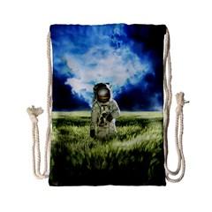 Astronaut Drawstring Bag (small)