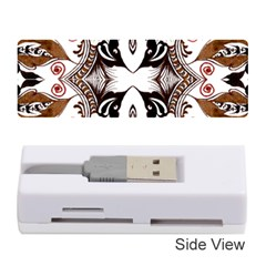 Art Traditional Batik Flower Pattern Memory Card Reader (stick)