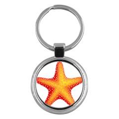 Starfish Key Chains (round)