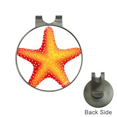 Starfish Hat Clips With Golf Markers