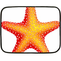 Starfish Fleece Blanket (mini)