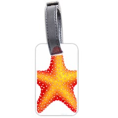 Starfish Luggage Tags (one Side)
