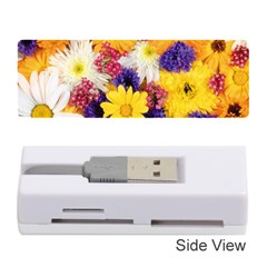 Colorful Flowers Pattern Memory Card Reader (stick)