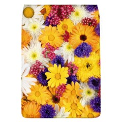 Colorful Flowers Pattern Flap Covers (l)