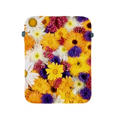 Colorful Flowers Pattern Apple Ipad 2/3/4 Protective Soft Cases