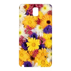 Colorful Flowers Pattern Samsung Galaxy Note 3 N9005 Hardshell Back Case