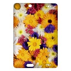 Colorful Flowers Pattern Amazon Kindle Fire Hd (2013) Hardshell Case