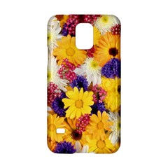 Colorful Flowers Pattern Samsung Galaxy S5 Hardshell Case