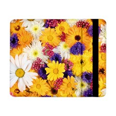 Colorful Flowers Pattern Samsung Galaxy Tab Pro 8 4  Flip Case