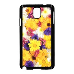 Colorful Flowers Pattern Samsung Galaxy Note 3 Neo Hardshell Case (black)