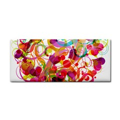 Abstract Colorful Heart Cosmetic Storage Cases