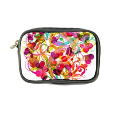 Abstract Colorful Heart Coin Purse