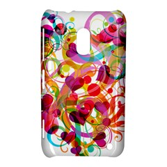 Abstract Colorful Heart Nokia Lumia 620