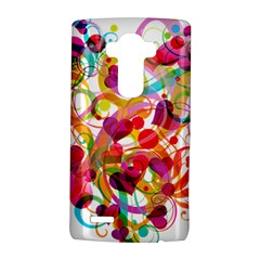 Abstract Colorful Heart Lg G4 Hardshell Case