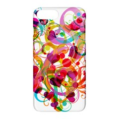 Abstract Colorful Heart Apple Iphone 7 Plus Hardshell Case