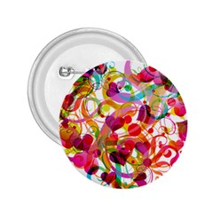 Abstract Colorful Heart 2 25  Buttons