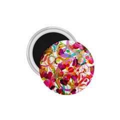 Abstract Colorful Heart 1 75  Magnets