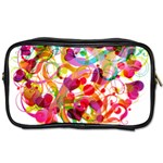 Abstract Colorful Heart Toiletries Bags 2-Side Front