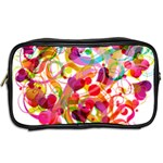 Abstract Colorful Heart Toiletries Bags 2-Side Back