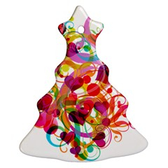 Abstract Colorful Heart Ornament (christmas Tree)
