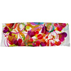 Abstract Colorful Heart Body Pillow Case Dakimakura (two Sides)