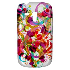 Abstract Colorful Heart Galaxy S3 Mini