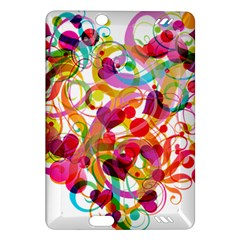 Abstract Colorful Heart Amazon Kindle Fire Hd (2013) Hardshell Case