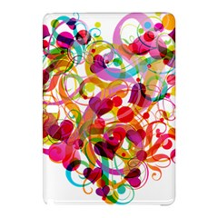 Abstract Colorful Heart Samsung Galaxy Tab Pro 10 1 Hardshell Case
