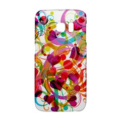 Abstract Colorful Heart Galaxy S6 Edge