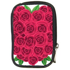 Floral Heart Compact Camera Cases