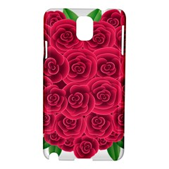 Floral Heart Samsung Galaxy Note 3 N9005 Hardshell Case
