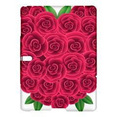 Floral Heart Samsung Galaxy Tab S (10 5 ) Hardshell Case