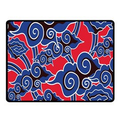 Batik Background Vector Fleece Blanket (small)