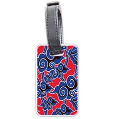 Batik Background Vector Luggage Tags (two Sides)