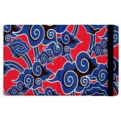 Batik Background Vector Apple Ipad 2 Flip Case