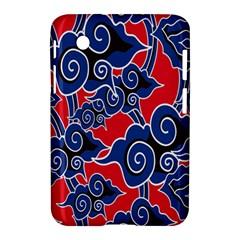 Batik Background Vector Samsung Galaxy Tab 2 (7 ) P3100 Hardshell Case