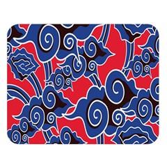 Batik Background Vector Double Sided Flano Blanket (large)