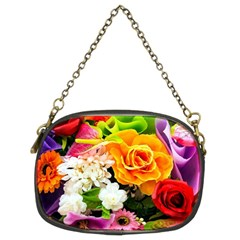 Colorful Flowers Chain Purses (two Sides)
