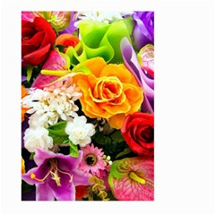 Colorful Flowers Large Garden Flag (two Sides)