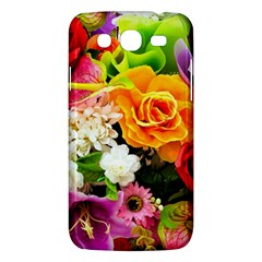 Colorful Flowers Samsung Galaxy Mega 5 8 I9152 Hardshell Case